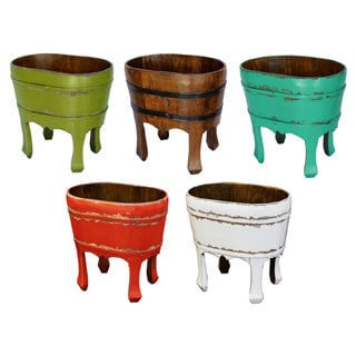 Woodard Decor 4-legged Bucket