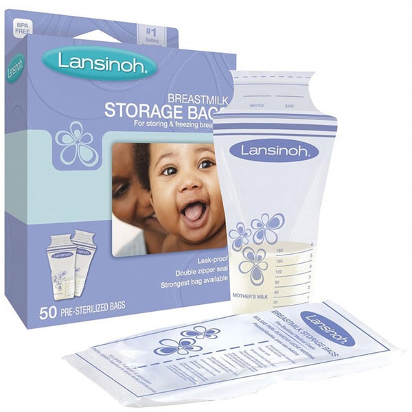 Lansinoh Breastmilk Storage Bag (Pack of 50)
