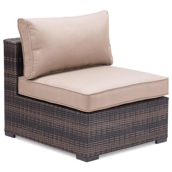 Brown Bocagrande Middle Sofa Piece