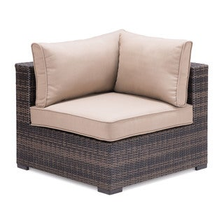 Bocagrande Brown Sectional Corner Chair