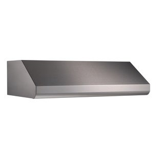 Broan E6448SS Series 10-inch Tall Wide Professional Stainless Steel Hood