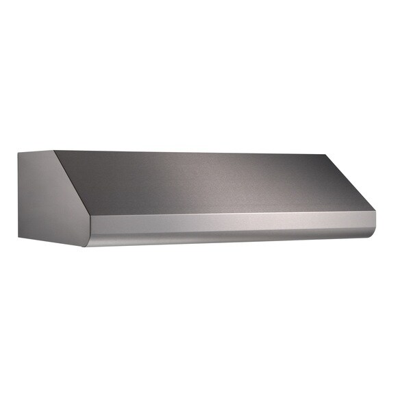 Broan E6442SS Series 10-inch Tall Professional Stainless Steel Hood