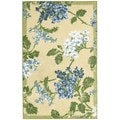 Nourison Waverly Aura Flora Golden Rug (2'6 x 4)