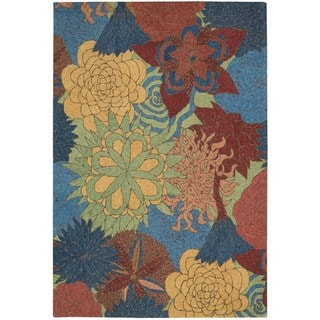 Nourison South Beach Deep Sea Rug (2'6 x 4')