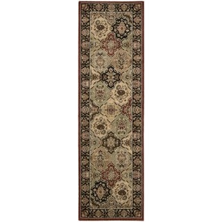 kathy ireland Home Lumiere Multicolor Runner Rug (2'3 x 7'9)