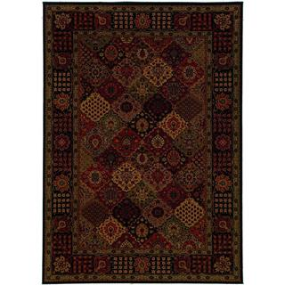 Everest Antique Baktiari/ Midnight Power-loomed Area Rug (5'3 x 7'6)