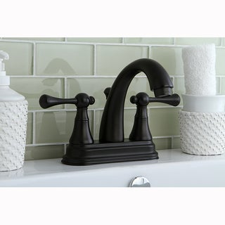 Classic Double-Handle Oil Rubbed Bronze Bathroom Faucet