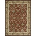 kathy ireland Home Lumiere Brick Rug (3'6 x 5'6)