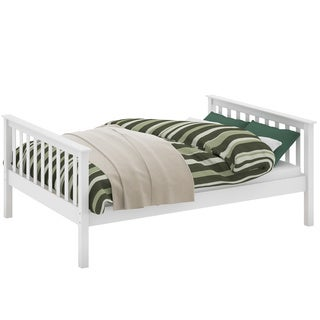 Monterey White Wood Double Bed