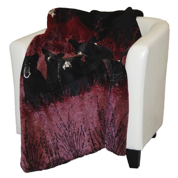 Denali Bear Family Throw Blanket