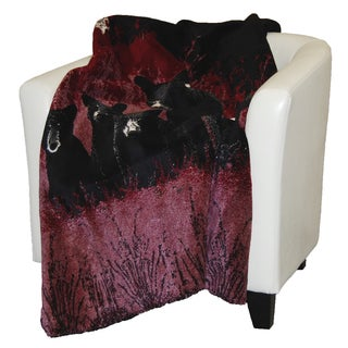 Denali Bear Family Throw Blanket