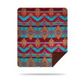 Denali Native Trails Throw Blanket