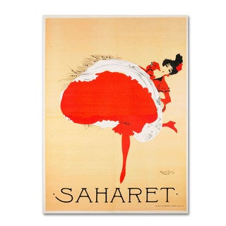 Vintage Apple Collection 'Saharet' Canvas Art