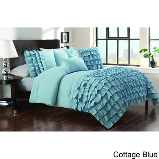 Taylor 5-piece Textured Comforter Set