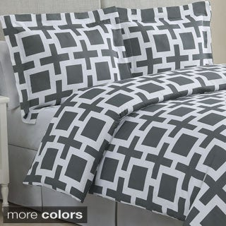 Links Cotton 3-piece Duvet Cover Set