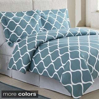 Banff Cotton 3-piece Duvet Cover Set