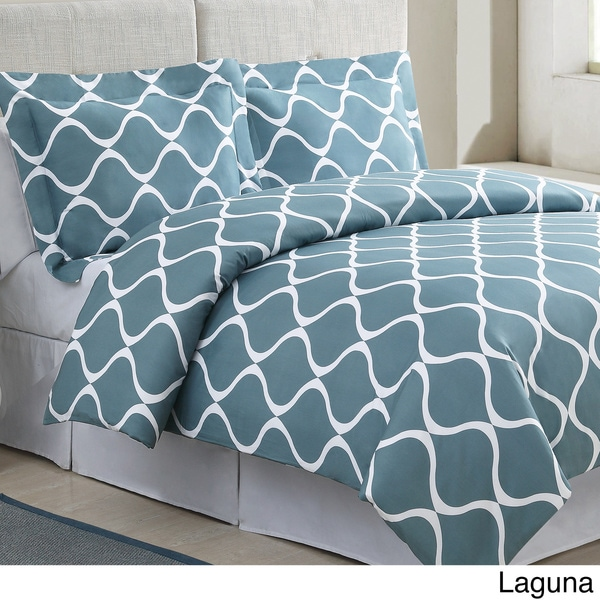 Banff Cotton 3-piece Duvet Cover Set