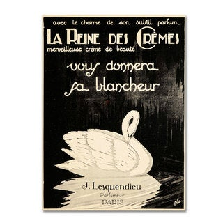 Vintage Apple Collection 'Lesquendieu Cremes' Canvas Art