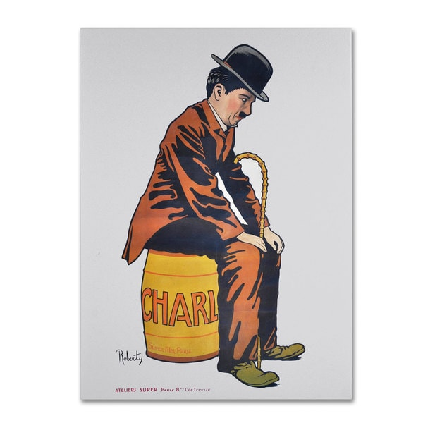 Vintage Apple Collection 'Chaplin' Canvas Art