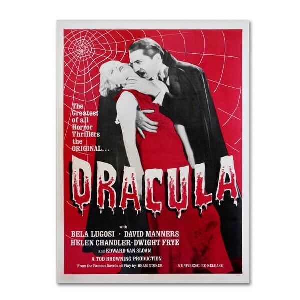 Vintage Apple Collection 'Dracula' Canvas Art