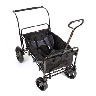 Go-Go Babyz Double Wagon Stroller in Black