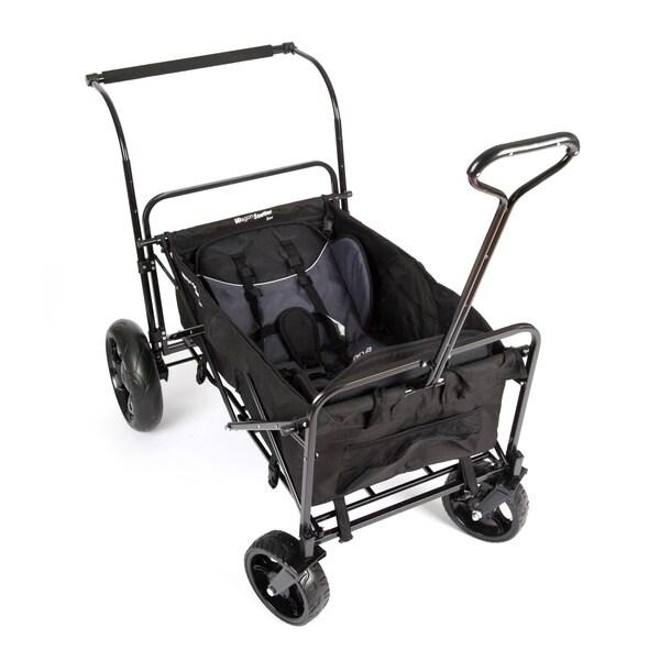 Go-Go Babyz Double Wagon Stroller in Black