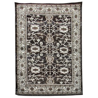 Lexington 436 Chocolate Oriental Design Rug (5 x 7)