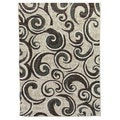 Lexington 442 Champaign Small Swirl Design Rug (5 x 7)