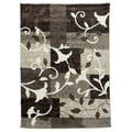 Lexington Champaign 435 Flower Leaves Design Rug (5 x 7)