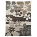 Lexington Champaign 434 Flower Abstract Design Rug (5 x 7)