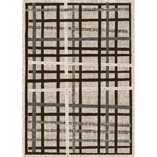 Lexington Champaign 433 Crosshatch Design Rug (5 x 7)