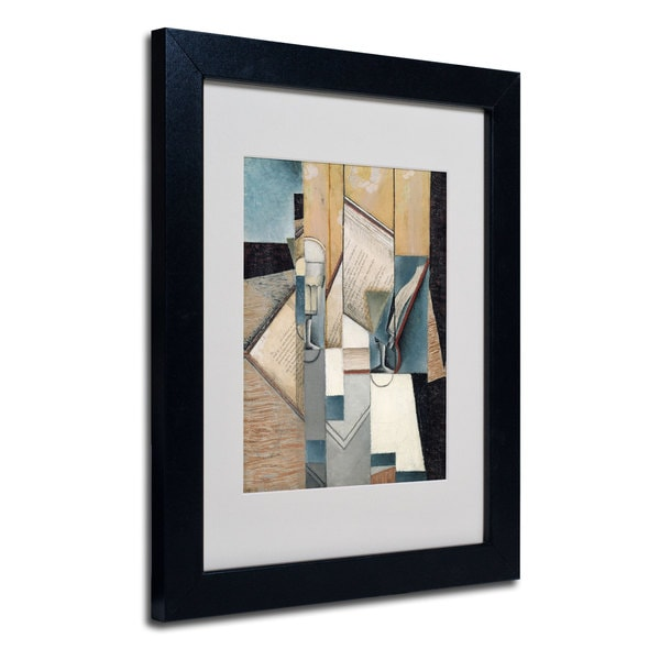 Juan Gris 'The Book' Framed Matted Art