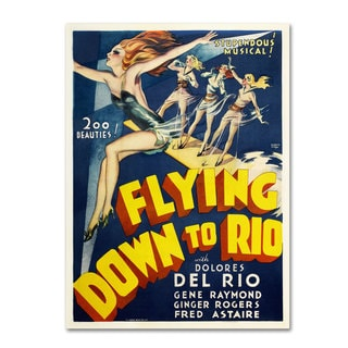 Vintage Apple Collection 'Flying Down to Rio' Canvas Art