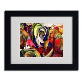 Franz Marc 'Mandrill' Framed Matted Art