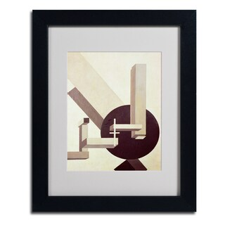 Eliezer Lissitzky 'Proun 10' Framed Matted Art