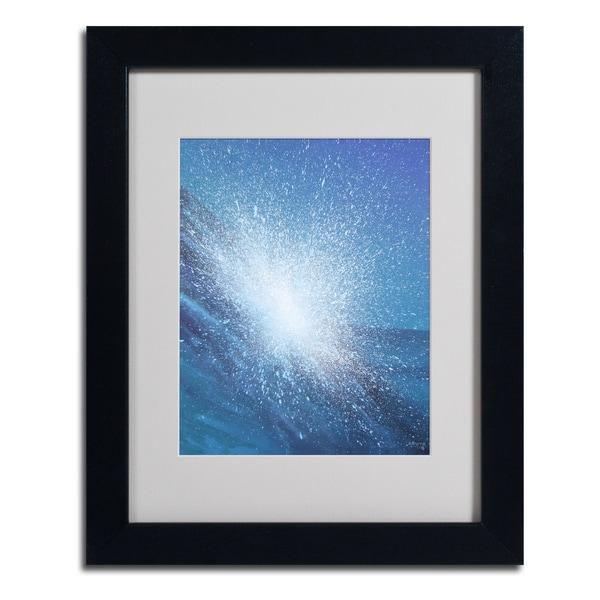 Alan Byrne 'Sea Picture VI' Framed Matted Art