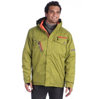 Boulder Gear Men's 'Hazard' Olive/ Orange Flase Jacket