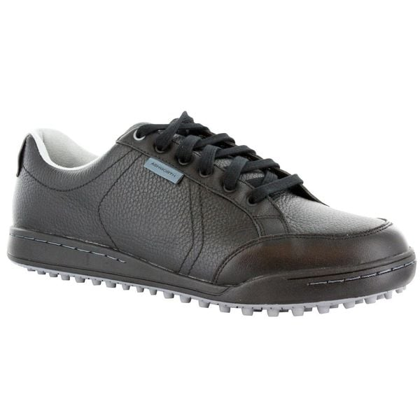 Ashworth Men's Cardiff Black/ Lead/ Silver Golf Shoes