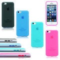 Gearonic TPU Bumper Frame Matte Back Cover Case for Apple iPhone 5C