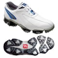 Footjoy Men's XPS-1 White/Blue Golf Shoes