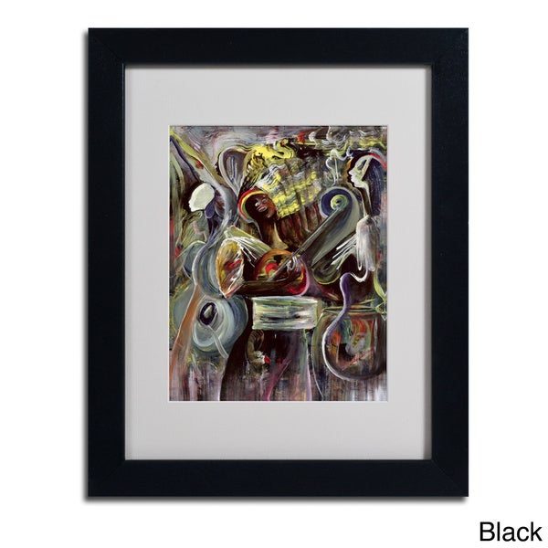 Ikani Beckford 'Pearl Jam' Framed Matted Art