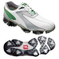Footjoy Men's XPS-1 White/ Silver/ Green Golf Shoes