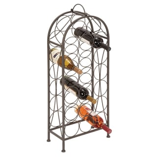 Casa Cortes Winston 20-bottle Metal Wine Rack
