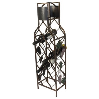 Casa Cortes 12-bottle Design Metal Wine Rack