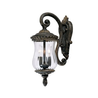 Bel Air Collection Wall-mount 2-light Outdoor Black Coral Light Fixture