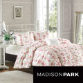 Madison Park Camila Floral Print 4-piece Duvet Cover Set