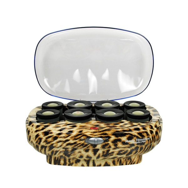 Babyliss Leopard Extra-large 8 Roller Hair Setter