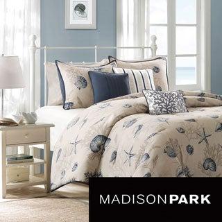 Madison Park Nantucket 6-piece Duvet Cover Set