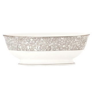 Lenox Silver Bouquet Open Vegetable Bowl