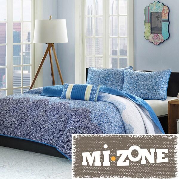 Mi Zone Calypso 4-piece Quilt Set